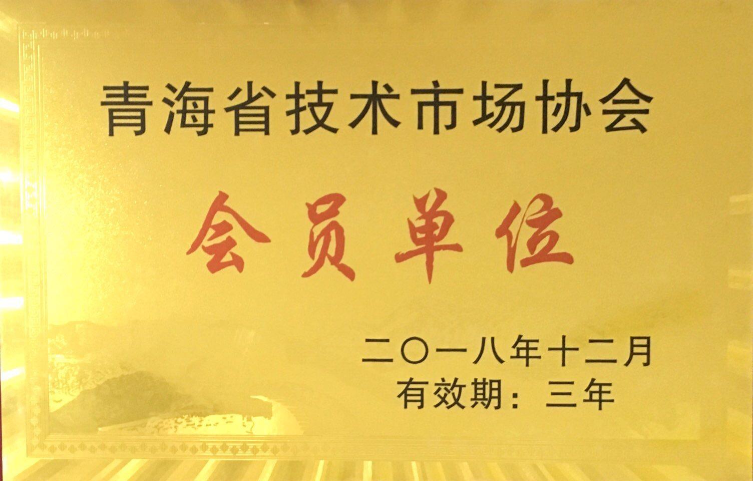 青海省技术市场协会会员单位